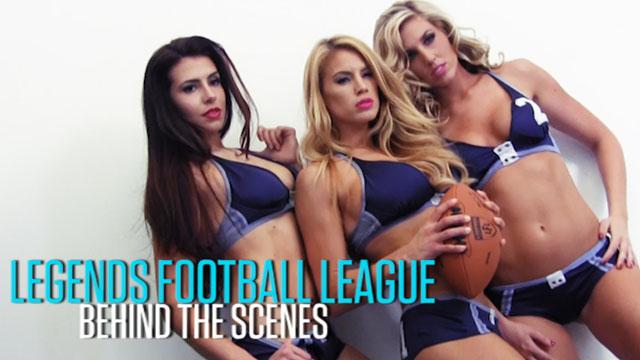 The Girls of Legends Football League - June 2013