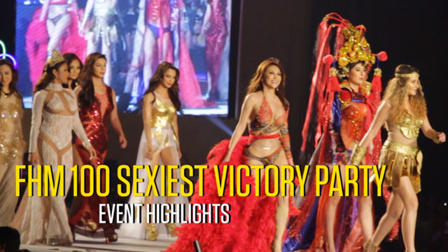 FHM 100 Sexiest Victory Party: Event Highlights