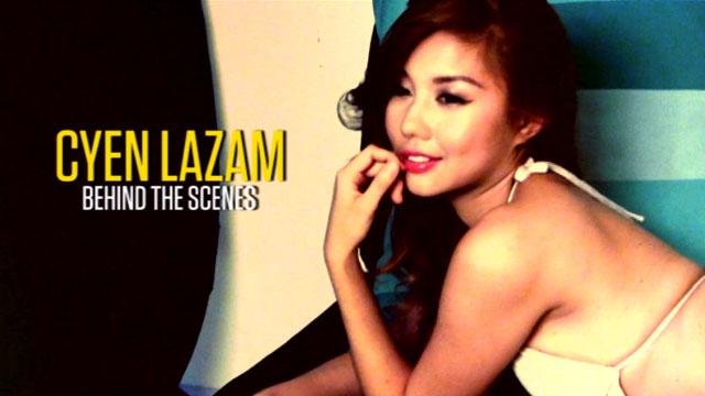 Cyen Lazam - FHM Girlfriend of the Month July 2013