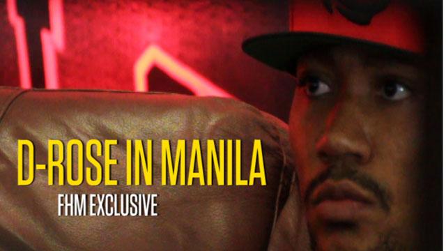 FHM Exclusive: D-Rose In Manila!