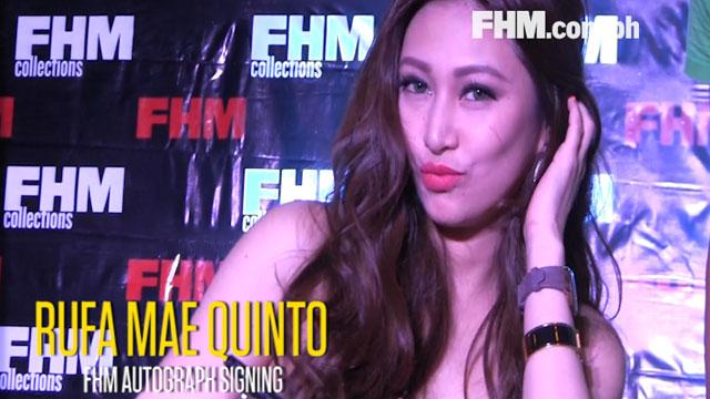 Rufa Mae Quinto's FHM Autograph Signing