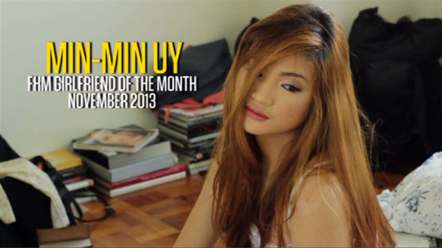 Min-Min Uy - FHM Girlfriend of the Month November 2013