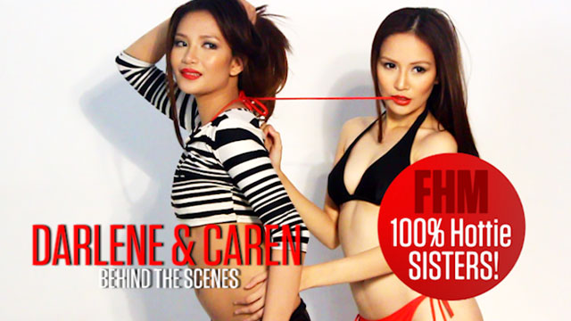 Darline and Caren - FHM 100% Hottie December 2013