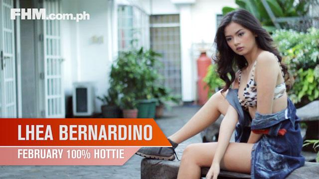 Lhea Bernardino - FHM 100% Hottie February 2014