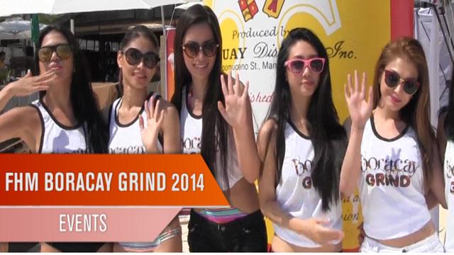 FHM Boracay Grind 2014