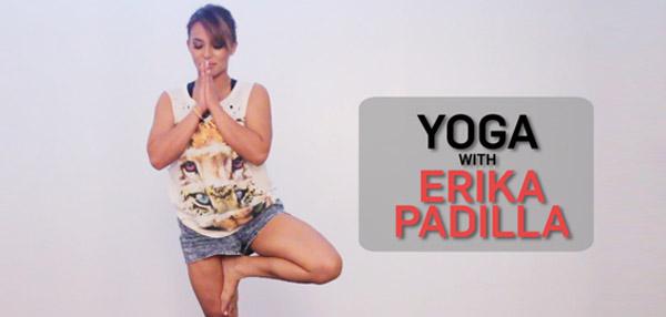 FHM Does Yoga With Erika Padilla!