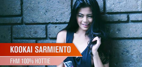 Kookai Sarmiento - FHM 100% Hottie August 2014 Behind-The-Scenes Video