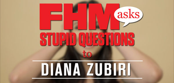 FHM Asks Stupid Questions To Diana Zubiri!