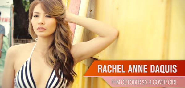 Rachel Anne Daquis - FHM Cover Girl October 2014