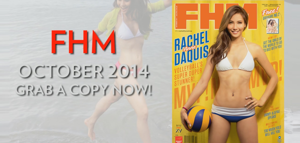 FHM October 2014 Issue Video Teaser