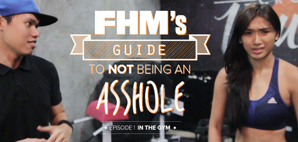 FHM's Guide To Not Being An Asshole (Episode 1): In The Gym