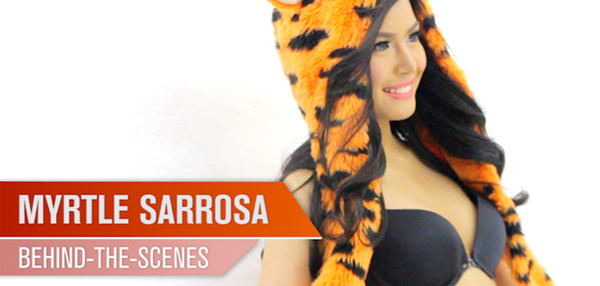 Go Behind-The-Scenes Of Myrtle Sarrosa's FHM November 2014 Cover Shoot!
