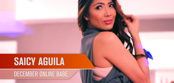Behind-The-Scenes With Saicy Aguila - FHM Online Babe December 2014