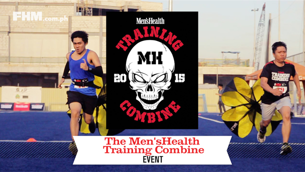 FHM Goes To The Men's Health Training Combine