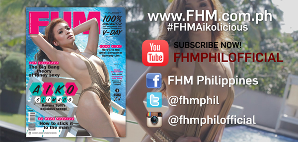 Get A Whole Lotta Of Aiko Climaco On FHM Philippines' YouTube Channel!