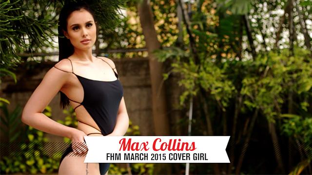 #FHMXVMax: Max Collins Is A Damn Good Kisser!