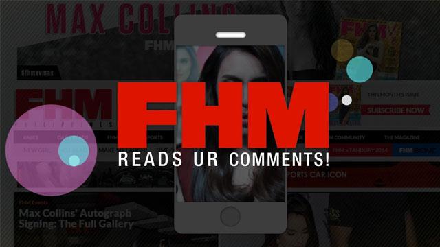 FHM Reads Ur Comments #1: Max Collins