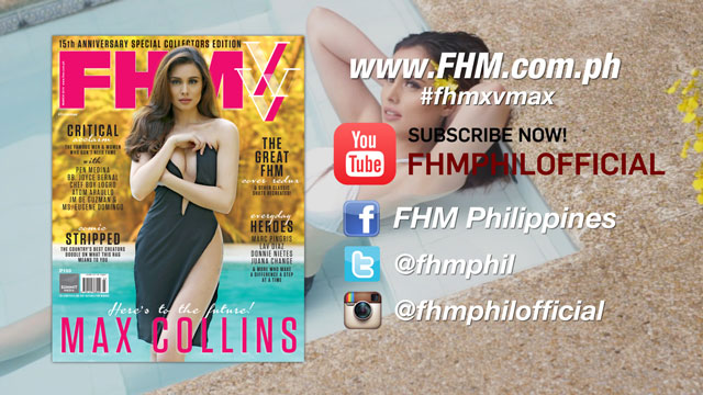 It's Max Collins Month On FHM Philippines' YouTube Channel!