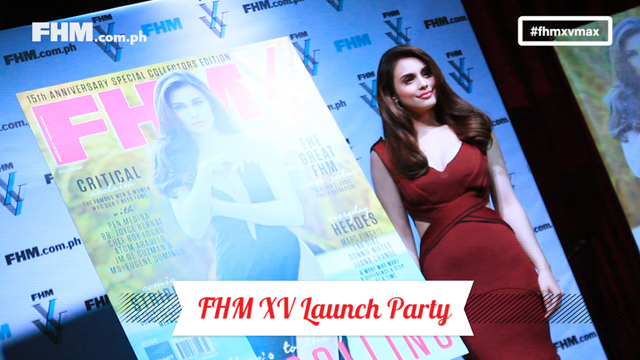 Quinceañera: The #FHMXVMax Launch Party!