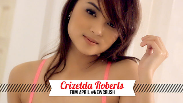 Play The Staring Game With FHM #NewCrush Crizelda Roberts