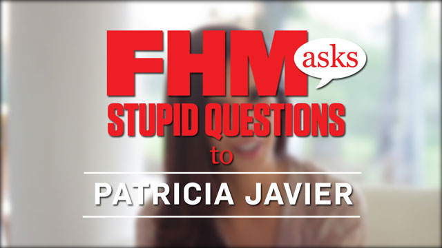 FHM Asks Stupid Questions To Patricia Javier