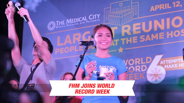 FHM Joins World Record Week
