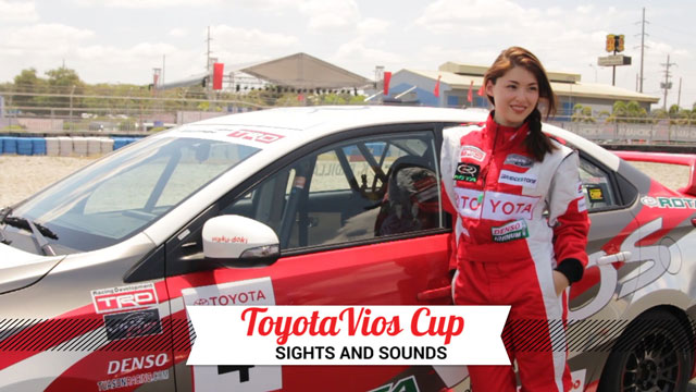 Sights And Sounds: Toyota Vios Cup 2015
