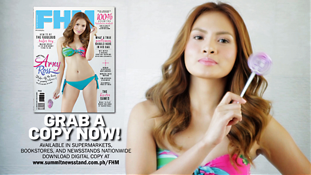 #FHMBubblyArny: FHM's Summer Scorches With Arny Ross