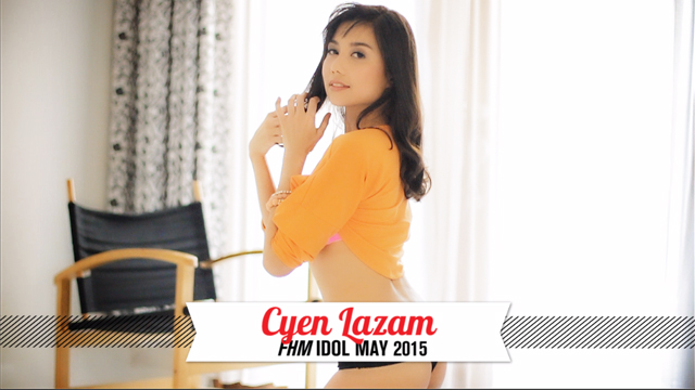 Behind The Scenes At Cyen Lazam's FHM Idol Photo Shoot