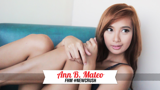 Behind The Scenes At Ann Mateo's FHM #NewCrush Shoot