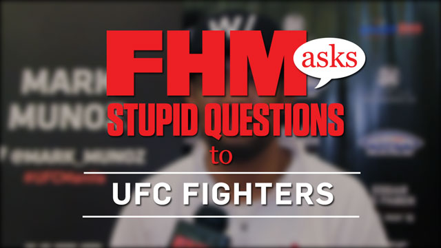 Serious UFC Fighters Answer Silly FHM Questions