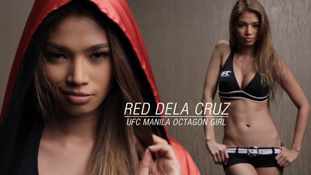 Behind The Scenes At UFC Manila Octagon Girl, Red Dela Cruz's New FHM Shoot