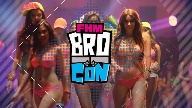 See You At The Manliest Bro-Event Of The Year,  The FHM Bro-Con!