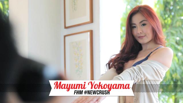 Behind The Scenes At Mayumi Yokoyama's FHM #NewCrush Shoot