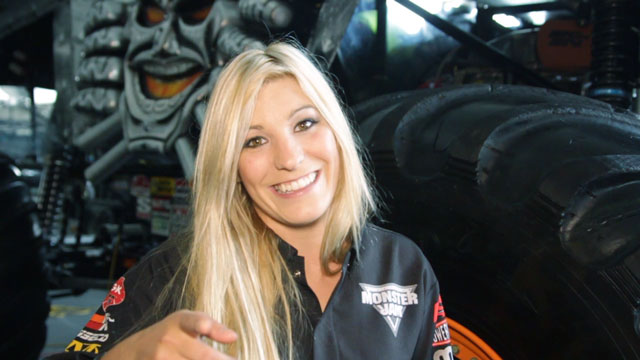 This Pretty Lady Promises A Great Show At Monster Jam Manila!