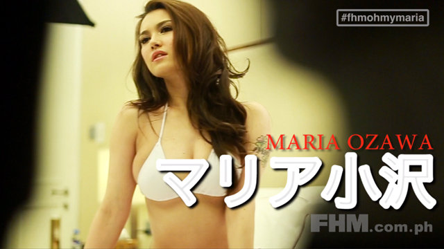 #FHMOhMyMaria: In Bed With Maria Ozawa!