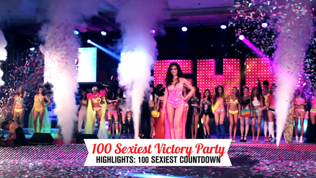 WATCH: The 100 Sexiest Countdown At The FHM Victory Party