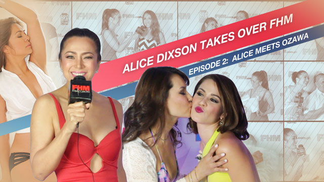 WATCH: Alice Dixson Meets (And Interviews) Maria Ozawa For The First Time!