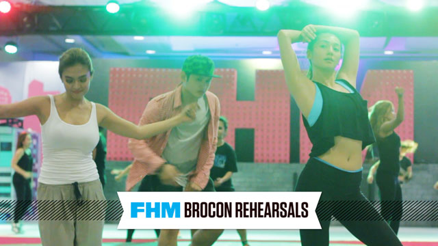 WATCH: Aiko, Bangs, Valeen, Myrtle, And Jennylyn's Rehearse For The #FHMBroCon