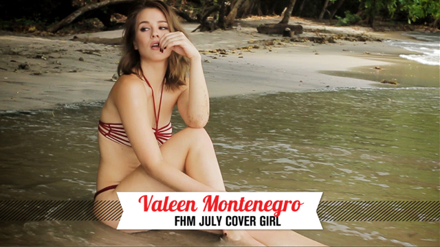 WATCH: Behind The Scenes Of Valeen Montenegro's Beaching FHM Cover Debut!