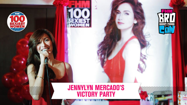 Jennylyn Mercado Is The Sexiest Woman In The Land: The Victory Party