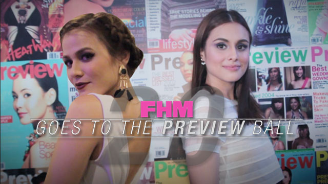 FHM Goes To The Preview Ball...And Asks Girls To Turn Slowly For The Camera!