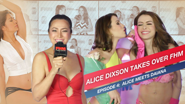 WATCH: Alice Dixson Takes Over FHM, Asks Daiana Menezes About Her 'First Time'