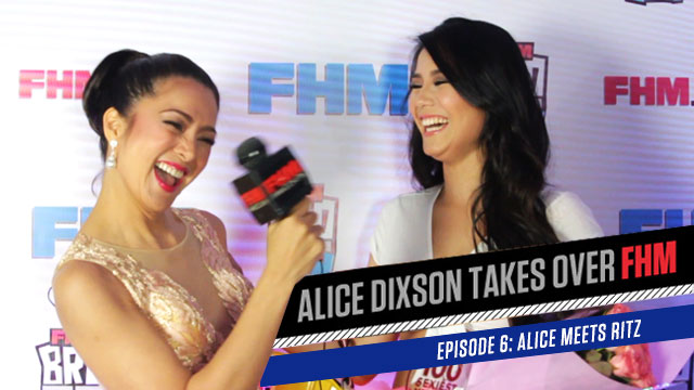 Alice Dixson Takes Over FHM: Ritz Azul Is The Sexiest Construction Worker Ever!
