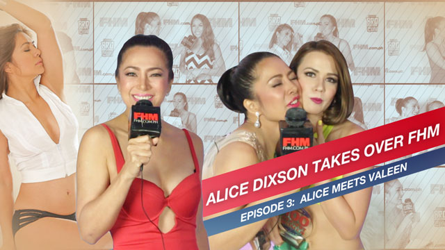 WATCH: Alice Dixson Takes Over FHM, Rubs Cheeks With Valeen Montenegro (And Then Some)!