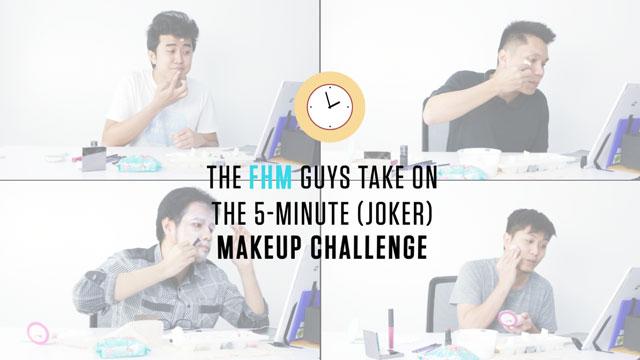 The 5-Minute (Joker) Makeup Challenge
