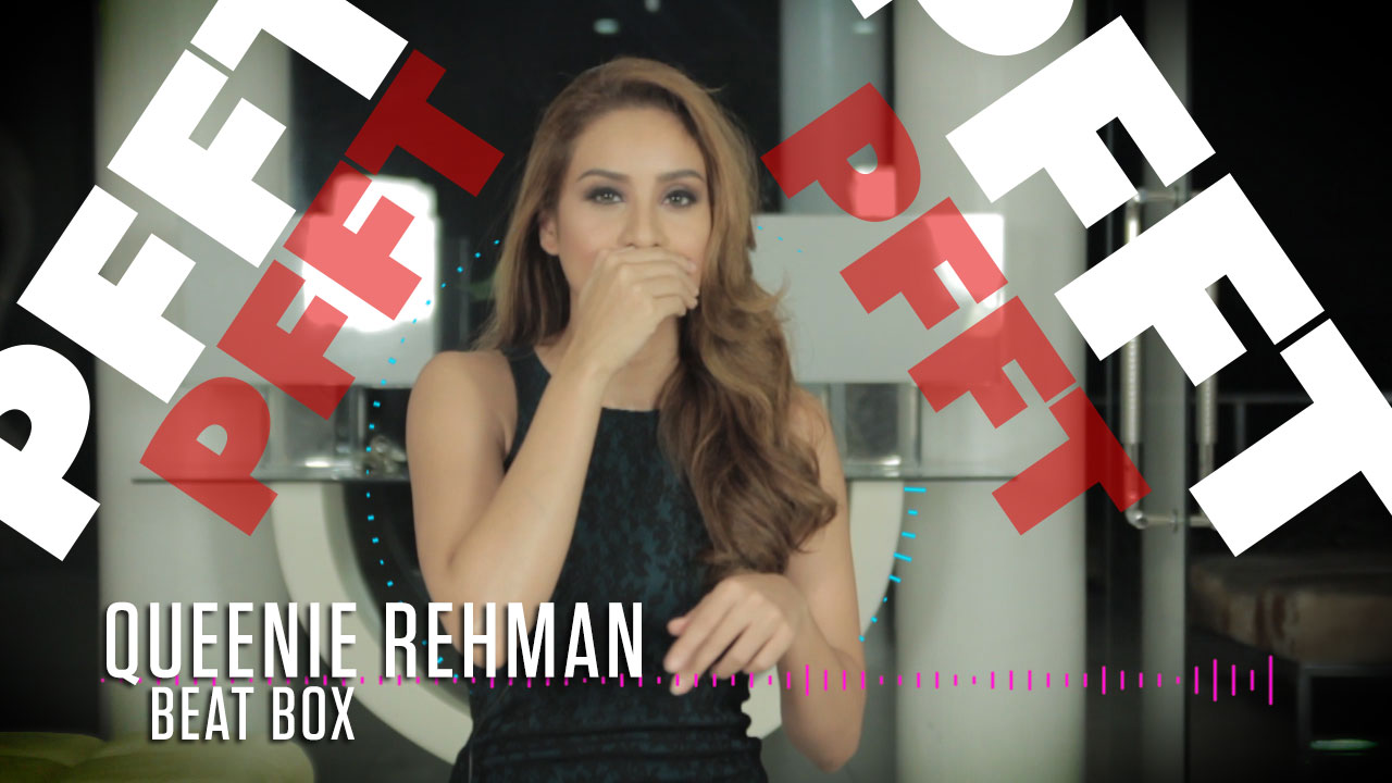 FHM Cover Girl Queenie Rehman Can Beatbox Like A Pro
