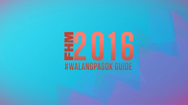 WATCH: The 2016 #WalangPasok Guide