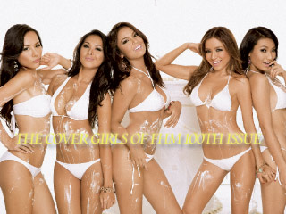 The Cover Girls of FHM 100th Issue