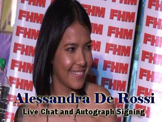 Alessandra de Rossi Autograph Signing